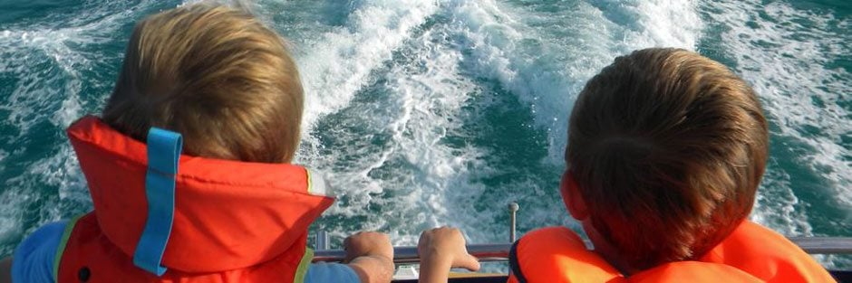 Can My Kids Come on a Yacht Charter?