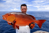 Man-with-snapper