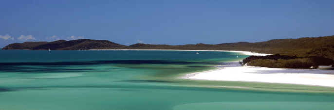 Getting to the Whitsunday Islands