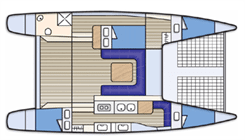 Seawind 1000XL 'Shearwater' - Queensland Yacht Charters