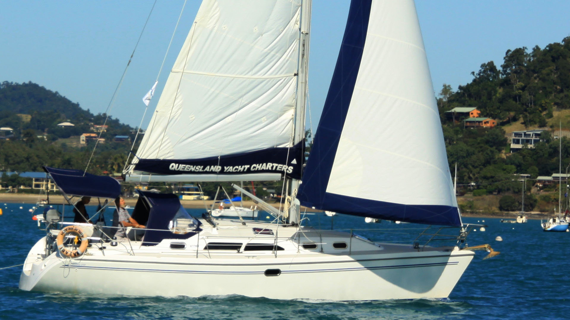 Catalina 350 'Wazabi'