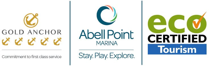 Gold Anchor, Abell Point Marina, Eco Certified Tourism Logos