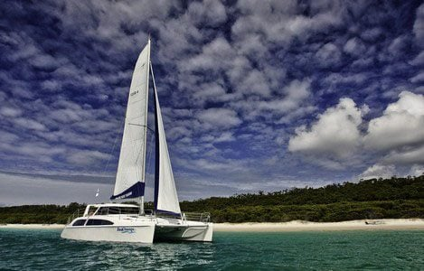Charter a Catamaran in the Whitsundays