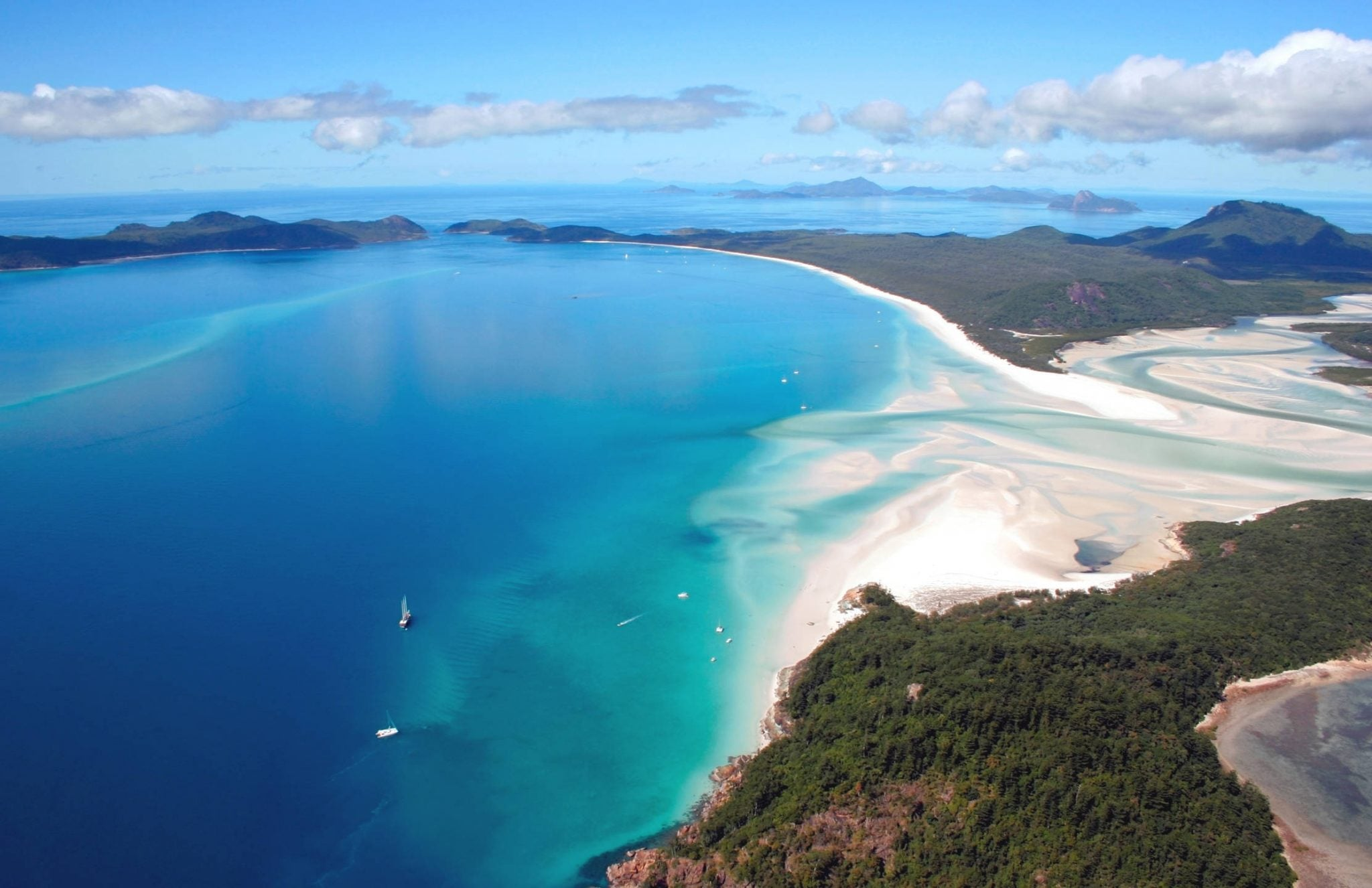 Scenery in the Whitsunday Islands