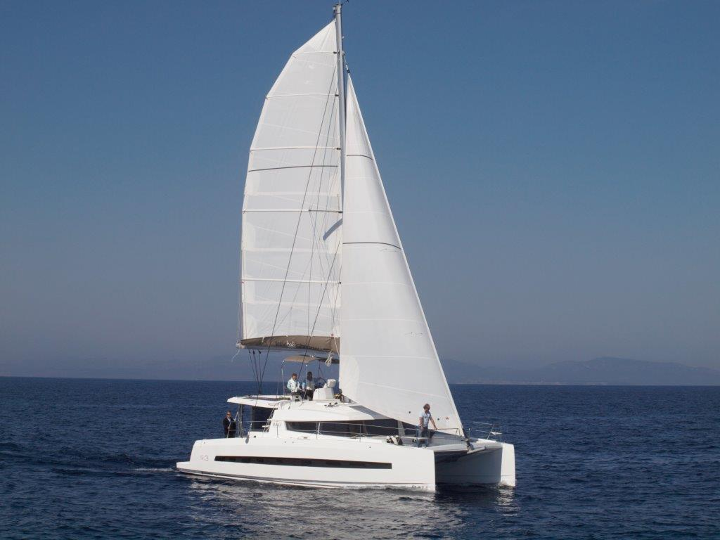 Bali catamaran for hire in the Whitsundays