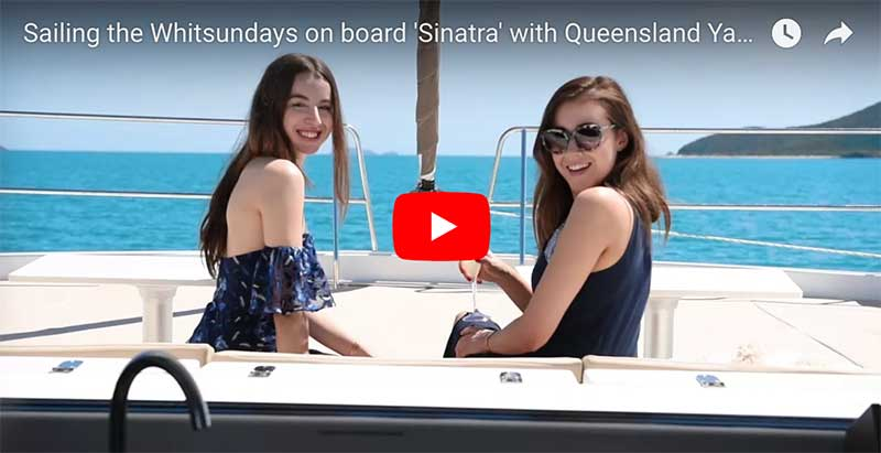 Sailing the Whitsundays on board 'Sinatra' with Queensland Yacht Charters