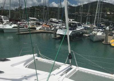 Seawind 1160 Lite bow netting
