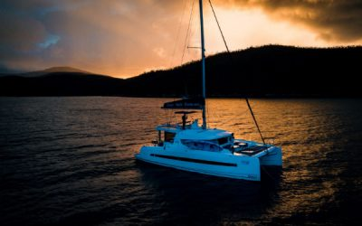 France's Two Travelers Cruise Around Whitsundays