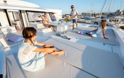 Why a Dream Yacht Charter with kids is a fabulous idea.