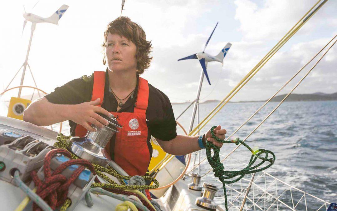 Lisa Blair Sailing Solo Around Antarctica