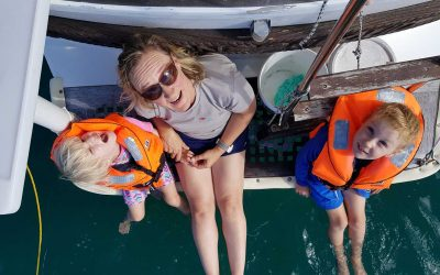 Writer and Sailor Sarah Ell Shares Her Personal Story with Dream Yacht Charter for #MoreWomenAtSea