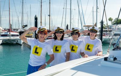 Kathy Lette Navigates the Whitsundays as a Beginner Sailor